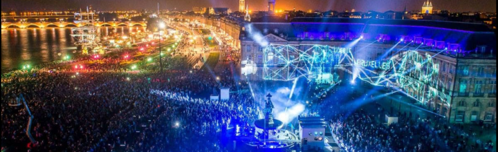 Bordeaux Fête le Vin 2016 / Spectacle Place de la Bourse